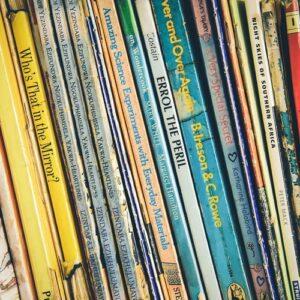 Antikvariske børnebøger